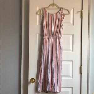 Striped Jumpsuit Size 2P